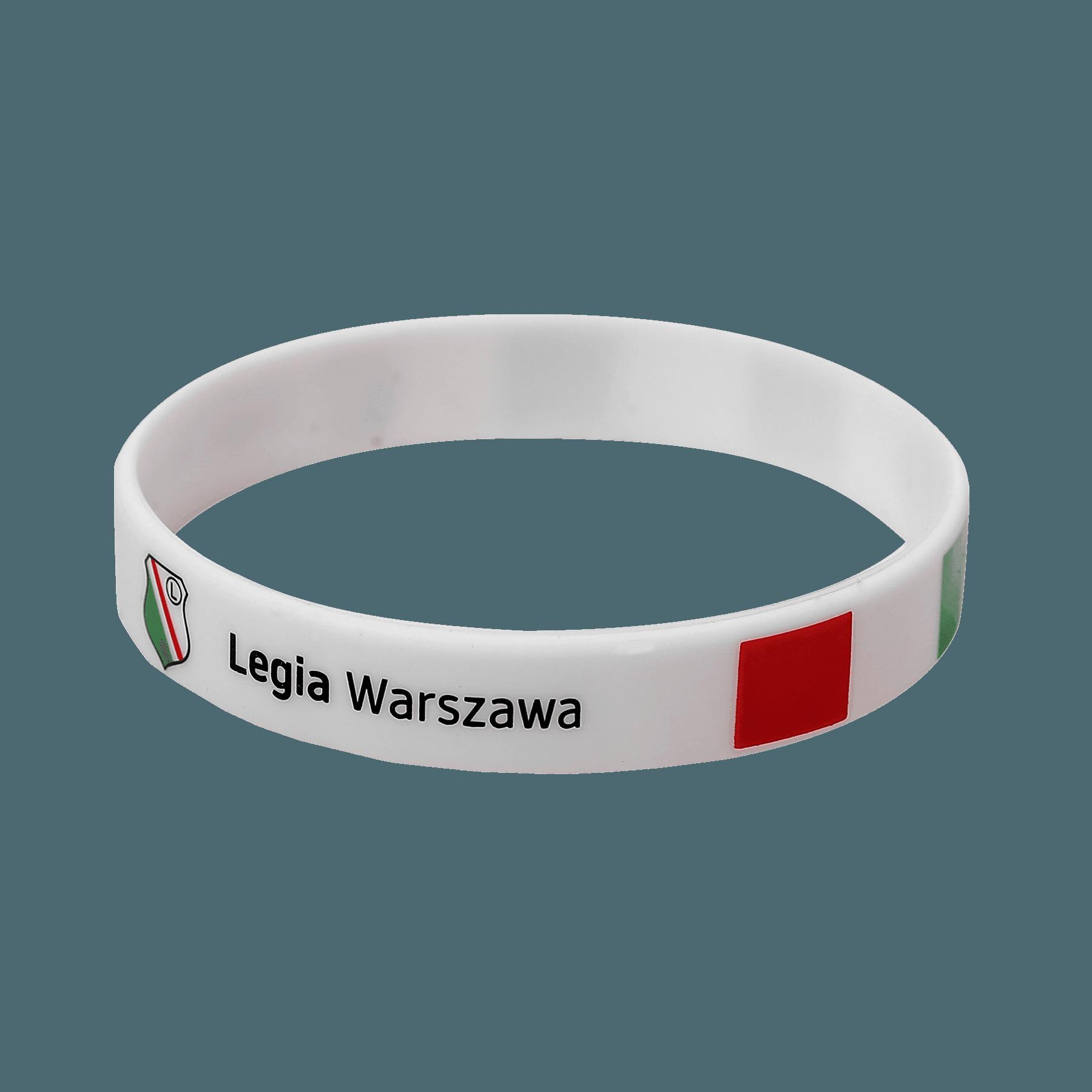 Opaska Silikonowa Legia Warszawa Herb