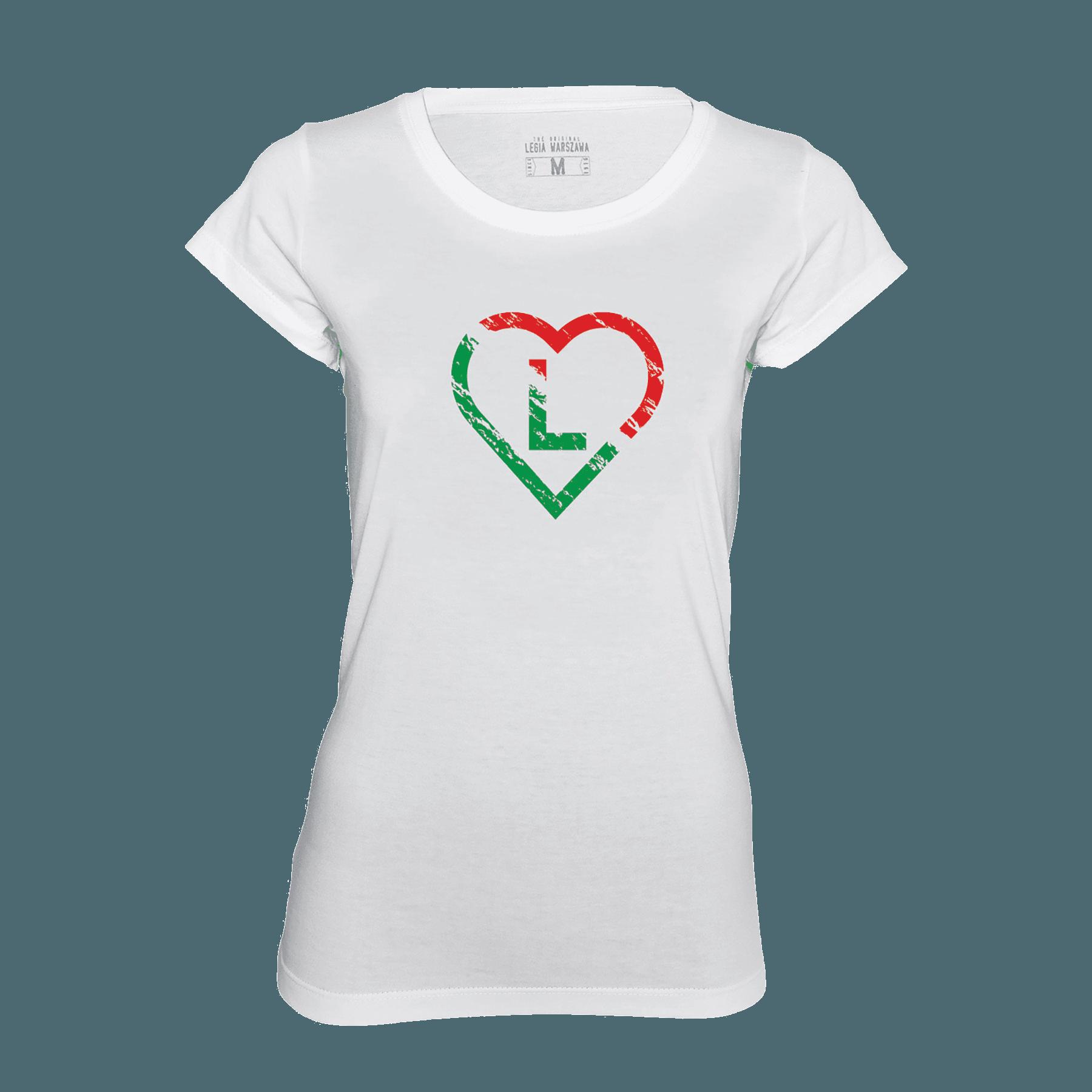 Koszulka damska serce