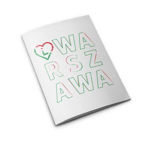 """Zeszyt w linie """"Warszawa"""" 32k."""