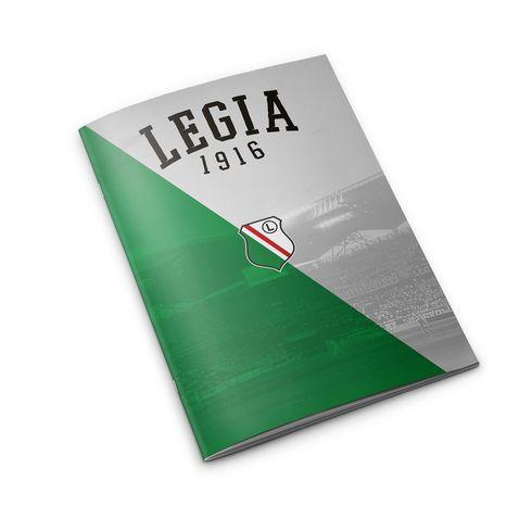 Zeszyt w linie Herb 1916 Legia 64k.