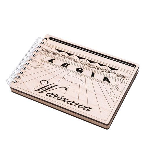Notes z drewnianą okładką - Trybuna
