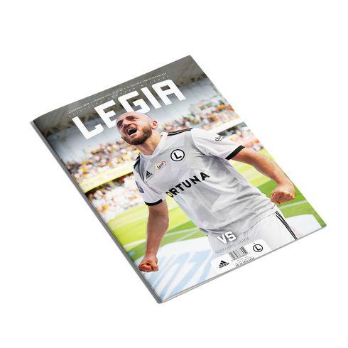 Program meczowy - Legia vs Zagłębie Lubin