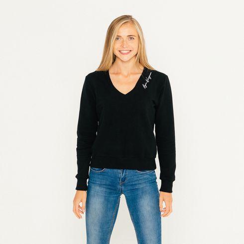 Bluza V-neck damska