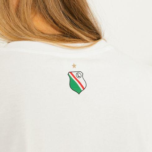 Koszulka damska Warszawa biała