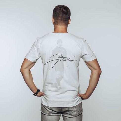 Biała koszulka Artur Boruc + eLka