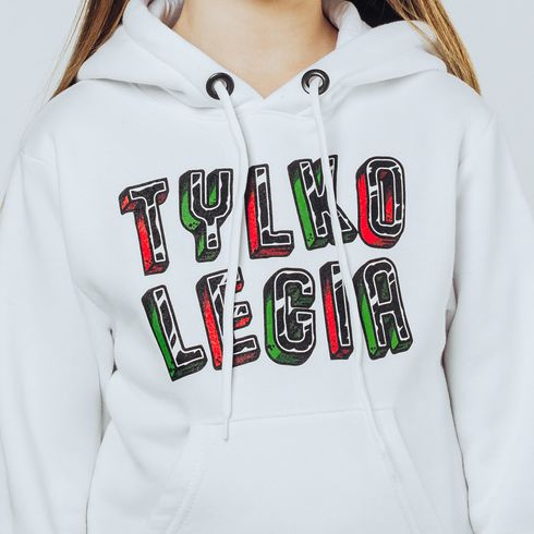 Bluza dziecięca Tylko Legia - biała