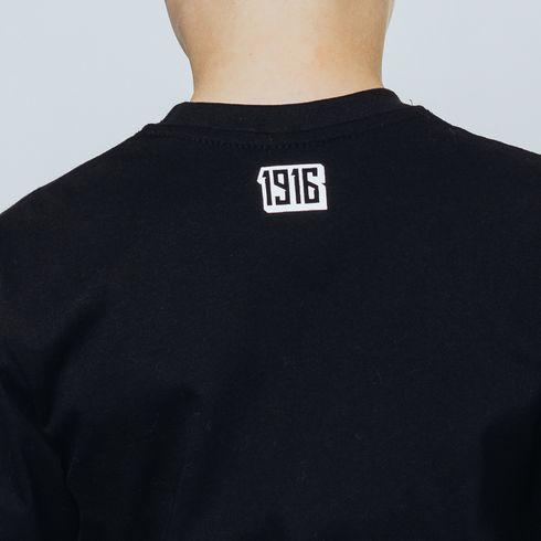 Czarna koszulka dziecięca - 1916