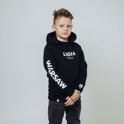Bluza dziecięca Legia Warszawa - czarna
