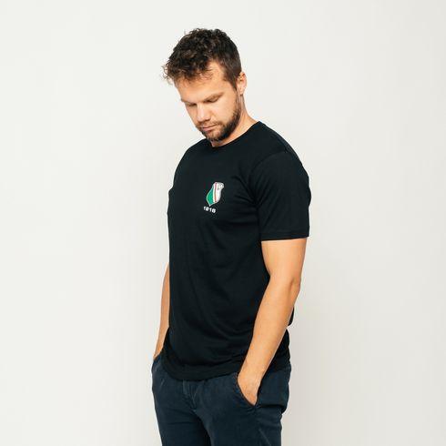 Czarna koszulka Herb