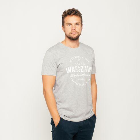 Szara koszulka Legia Warszawa