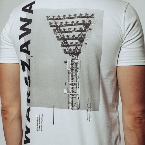 Biała koszulka jupiter