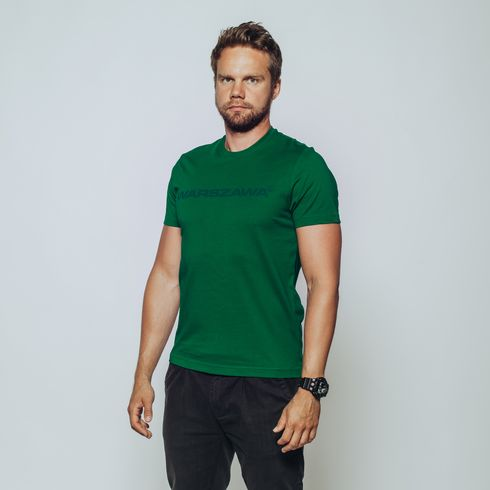 Zielona koszulka Warszawa