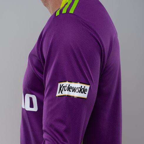 Koszulka bramkarska adidas 2020/21 - fioletowa długi rękaw - FI4194