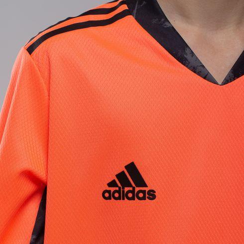 Koszulka juniorska bramkarska adidas 2020/21 - pomarańczowa - FI4202