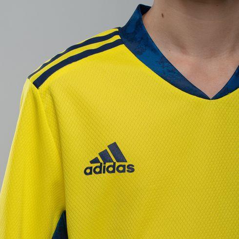 Koszulka juniorska bramkarska adidas 2020/21 - żółta - FI4199