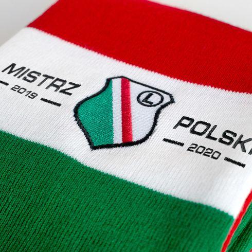 Szalik Mistrz Polski z Kolumny Zygmunta III Wazy