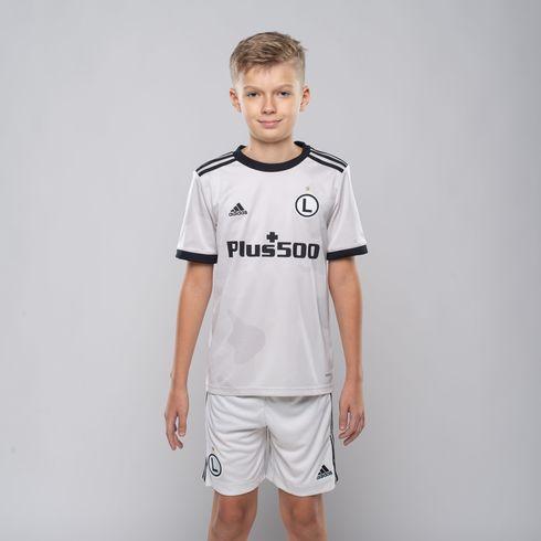 Dziecięca koszulka meczowa domowa adidas 2020/21 - EW9488 + piłka
