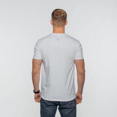 Biała koszulka Legia moro
