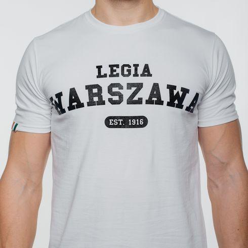 Biała koszulka Legia Warszawa 1916