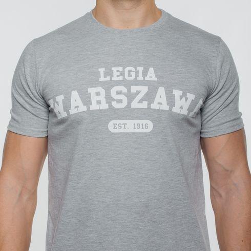 Szara koszulka Legia Warszawa 1916