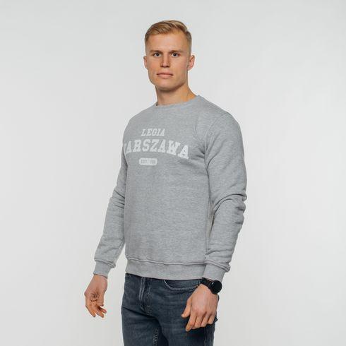 Szara bluza Legia Warszawa 1916