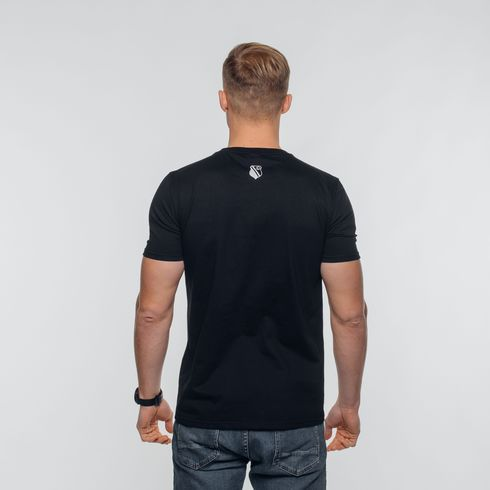 Czarna koszulka Legia moro