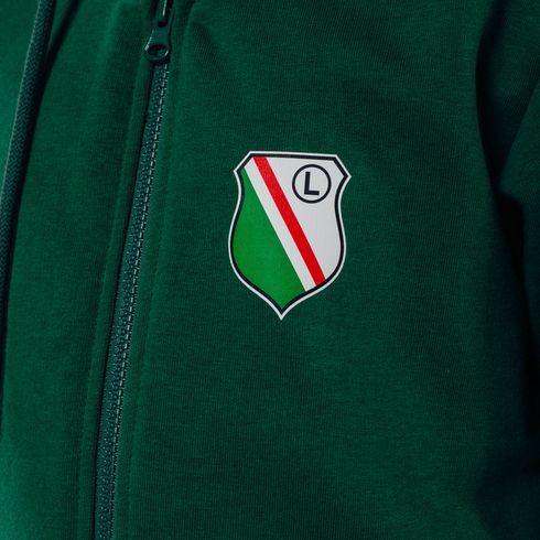 Bluza z kapturem rozsuwana Legia 1916