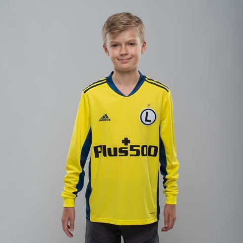 Koszulka juniorska bramkarska adidas 2020/21 - żółta- FI4199