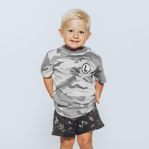 Koszulka dziecięca moro eLka