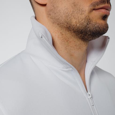Biała bluza rozsuwana eLka