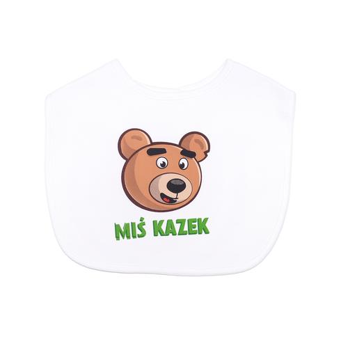 Śliniak Miś Kazek