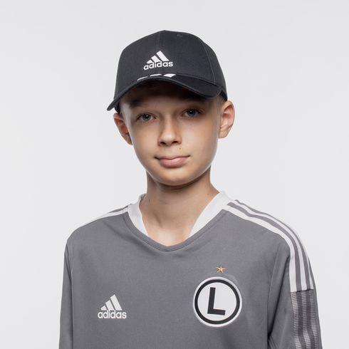 Czapka czarna adidas Junior - DQ1073