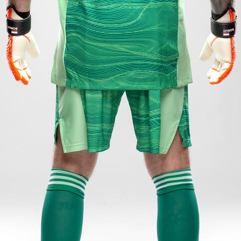 Spodenki bramkarskie adidas zielone - GT8409