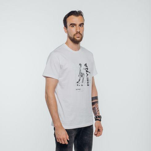 Biała koszulka Deyna