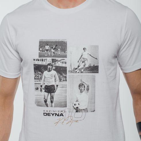 Biała koszulka Deyna zdjęcia