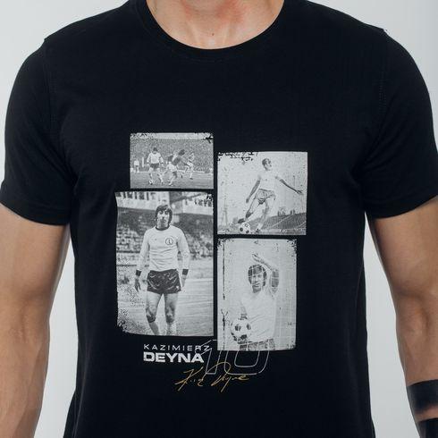 Czarna koszulka Deyna zdjęcia