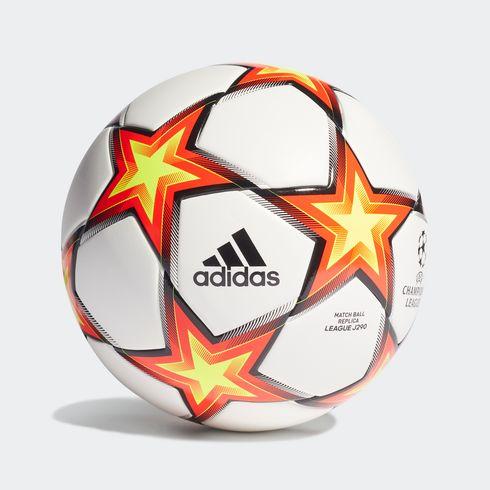 Piłka adidas UCL League Junior 290 Pyrostorm Ball rozm. 4 - GU0212