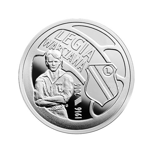 Moneta Okolicznościowa 5zł - Legia Warszawa