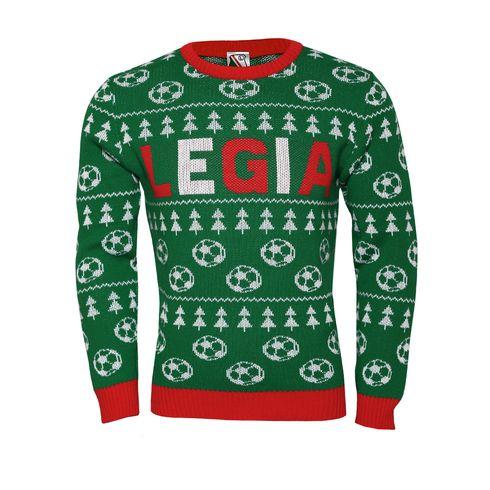Sweter Świąteczny Legia