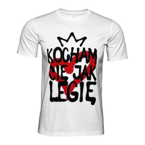 Koszulka Kocham Cię jak Legię