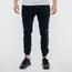 Czarne spodnie jeansowe joggery
