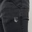 Szare spodnie jeansowe joggery