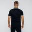 Czarna koszulka polo eLka