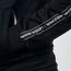 Czarna bluza rozsuwana eLka