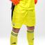 Spodenki bramkarskie adidas żółte - GG3764